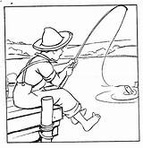 Fishing Rod Boy Tuesday Pages Digital Coloring Stamps Fish Template Digitaltuesday Boys Sketch Colouring Templates Young Books sketch template