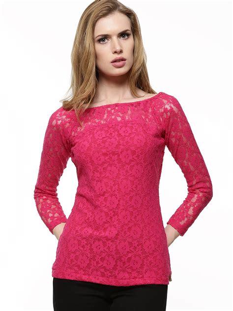 buy faballey  shoulder lace top  women womens