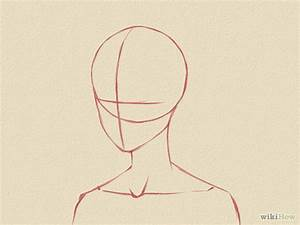 Draw a Manga Face (Male) | Manga, Face and Drawings