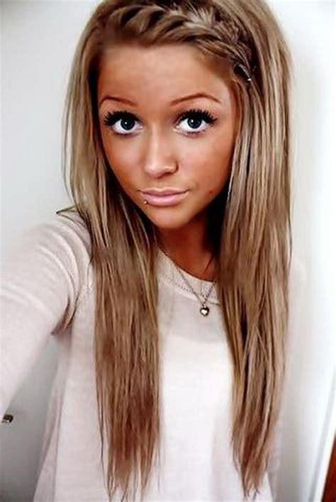 Frisuren fu00fcr lange haare geflochten