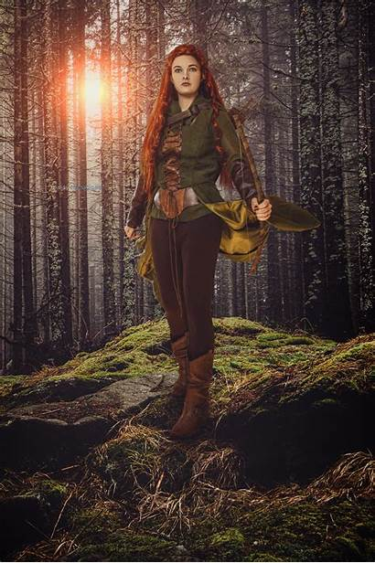 Tauriel Cosplay Hobbit Poster Reimagined Reality