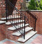 Outdoor Metal Handrails For Stairs by Wrought Iron Outdoor Stair Railings How To Select The Best Outdoor Stair Ra