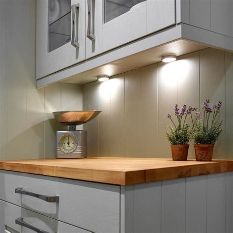 dimmable under cabinet lighting sensio dimmable sls hype led cabinet spotlight cool