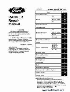 2002 Ford Ranger Repair Manual