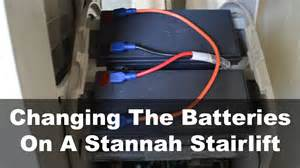 changing the batteries on a stannah stairlift ask a builder