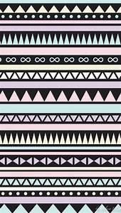Black and Pastel tribal iphone wallpaper | Wallpaper ...