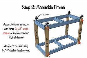 Easy Portable Workbench Plans - Rogue Engineer