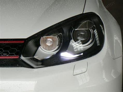 mk6 gti lights 2010 volkswagen mk6 gti error free led parking lights