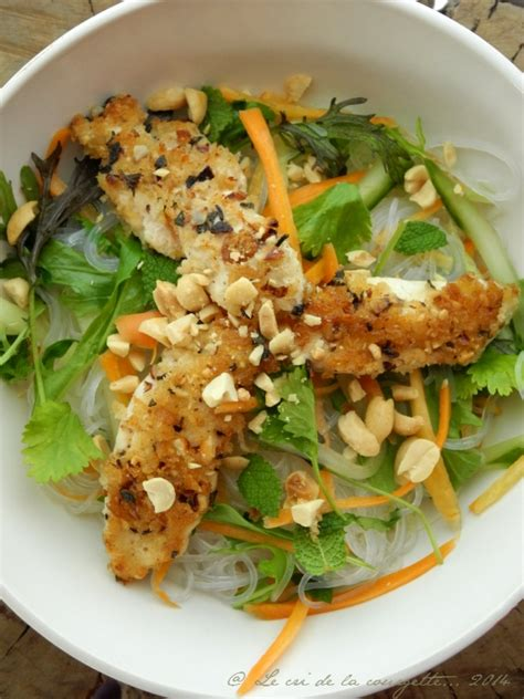 cuisine chinoise poulet croustillant recettes vermicelles de soja