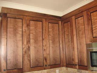 style of kitchen cabinets figured walnut cabinets portland oregon 5915