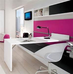 agreable chambre ado avec mezzanine 8 bureau pour With bureau pour chambre ado