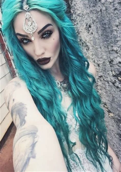 295 Best Images About Hair On Pinterest Teal Hair Dye
