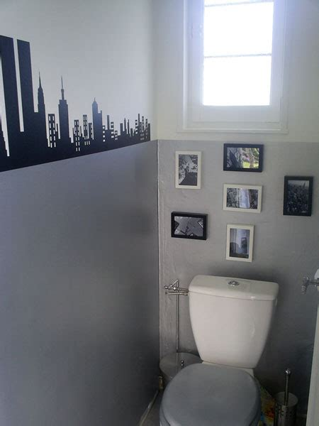 idee deco toilette en gris d 233 coration wc toilettes gris wc toilette gris et d 233 corations