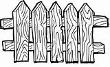 Fence Gate Wooden Clipart Coloring Drawing Line Vector Garden Picket Pages Background Drawings Clip Fencing Barn Illustrations Eps Getdrawings Vectors sketch template