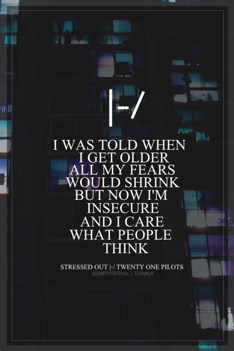 twenty  pilots lyrics  tumblr