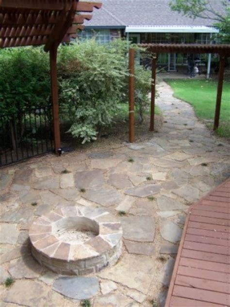 decomposed granite patio flagstone classic rock yard
