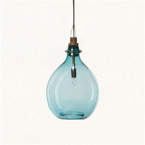 glass jug pendant tropical pendant lighting by terrain