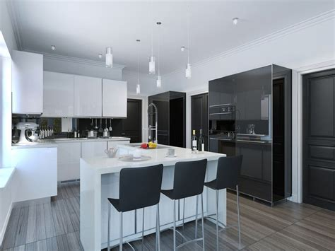 Black And White Kitchen Designs From Mobalpa by 47 Modern Kitchen Design Ideas Cabinet Pictures Modern