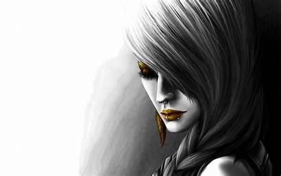 Gothic Lips Backgrounds Wallpapers Desktop Mobile