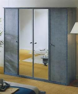 Armoire Pour Chambre : armoire penderie en rotin brin d 39 ouest ~ Teatrodelosmanantiales.com Idées de Décoration