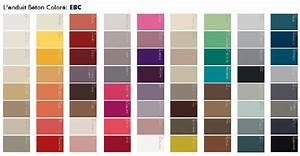 davausnet nuancier peinture couleur avec des idees With palette de couleur peinture murale 11 deco en rouge
