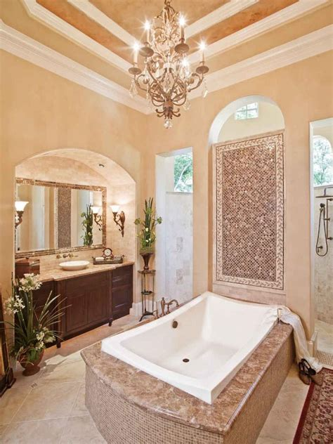 Роскошные ванные комнаты для вдохновения