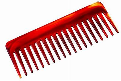 Comb Brown Royalty Isolated Background Plastic