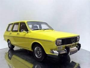 1973 Guayin Renault R12 Break Ts Yellow Escala 1  18 Otto
