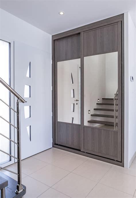 porte de placard cuisine sur mesure placard porte coulissante pas cher