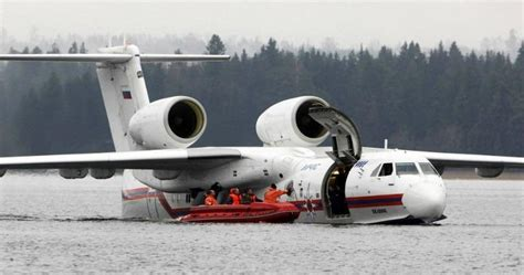 russian navy  receive beriev   aircraft     world china daily