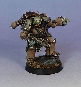 CoolMiniOrNot - Chaos Nurgle Plague Marine by Countersunk81