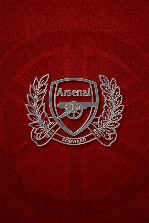 arsenal fc crest iphone wallpaper  mrstevecook  deviantart