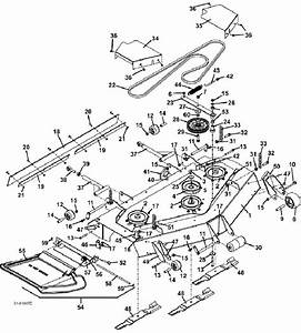 2004 220-225 Deck Assembly M152