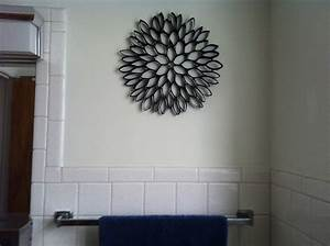 toilet paper roll art for wall decor With toilet paper roll wall art