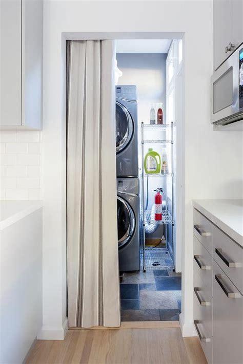 washer and dryer in kitchen design ideas