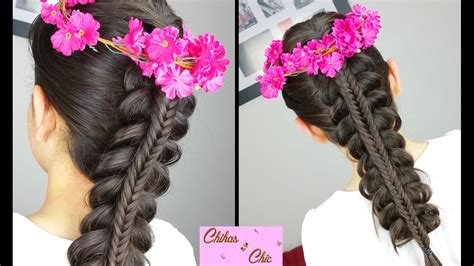 stacked fishtail braid hairstyles  school easy