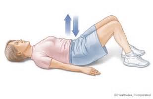 free floor planner pelvic tilt exercise