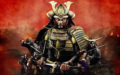 Samurai Shogun War Warrior Katana Total Games