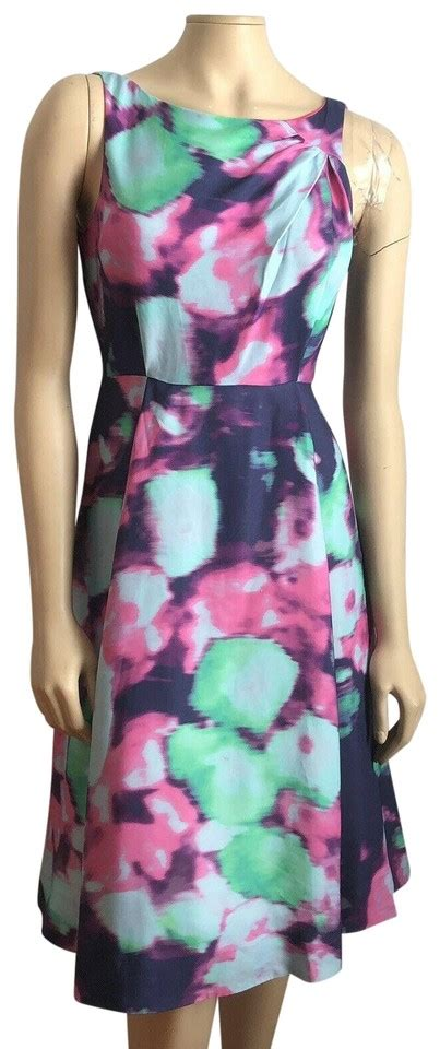 kate spade multicolor abstract watercolor fit flare