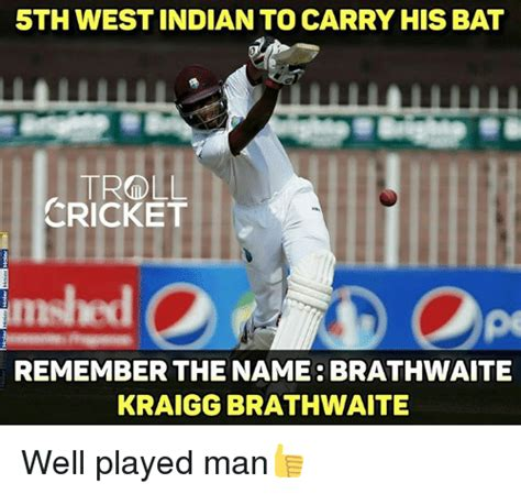 Remember The Name Meme - 5th west indian to carry hisbat cricket misled remember