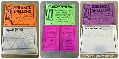 Journeys Lists Spelling Grade 2nd Activities Second