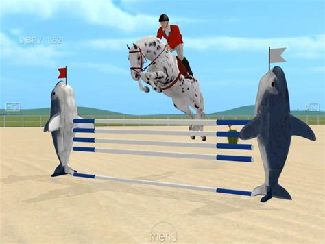 jumping horse games jumpy breeds equestrian events obstacles lovers largest calendar five leaping