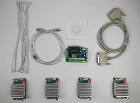 Cnc Router Axis Kit Mach Stepper Motor