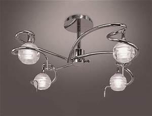 Luminaires Pas Cher Design : luminaire plafonnier salon pas cher ~ Teatrodelosmanantiales.com Idées de Décoration