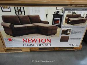 costco sofa bed roselawnlutheran With pulaski newton chaise sofa bed