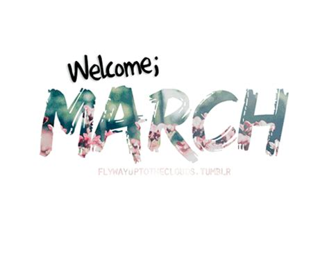 Goodbye February Hello March And Spring Pics 2015