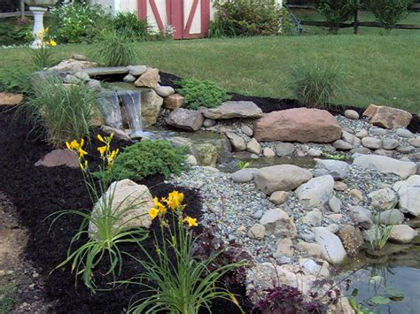 landscaping ideas with water features pdf