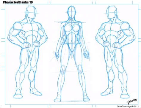 tmnt body template blank templates 10 by stourangeau on deviantart