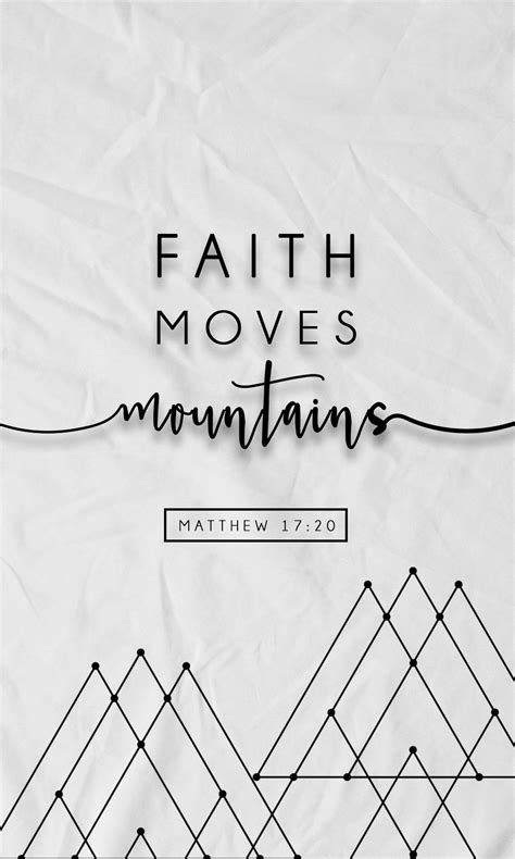 Aesthetic Bible Verse Wallpaper Iphone faith mountains free iphone wallpapers from prone