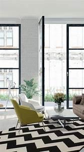 Schwarz Weißer Teppich : die besten 25 wei er teppich ideen auf pinterest wei e teppiche teppich grau wei und teppiche ~ Orissabook.com Haus und Dekorationen